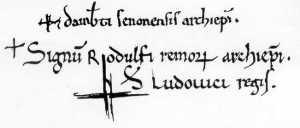 Ecriture 12è siècle